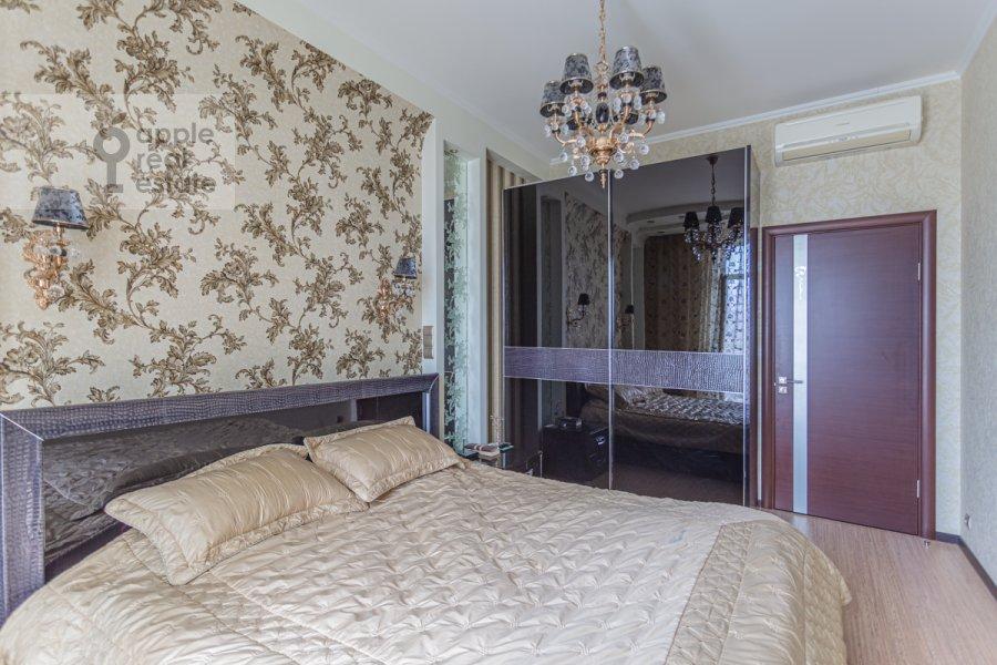 Спальня в 3-комнатной квартире по адресу проспект Вернадского 105к4