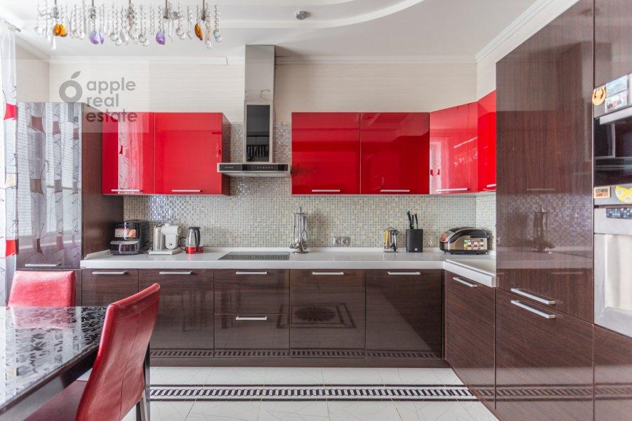 Кухня в 3-комнатной квартире по адресу проспект Вернадского 105к4