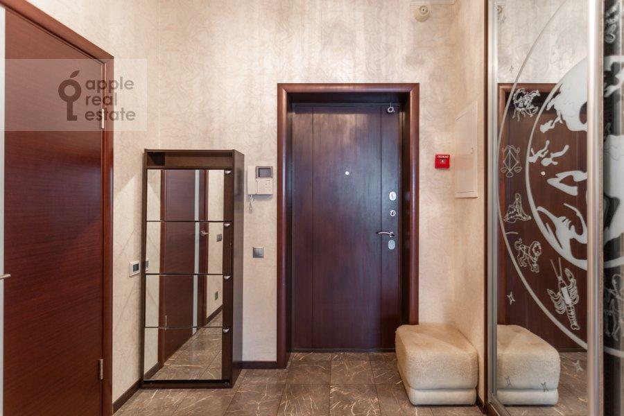Коридор в 3-комнатной квартире по адресу проспект Вернадского 105к4