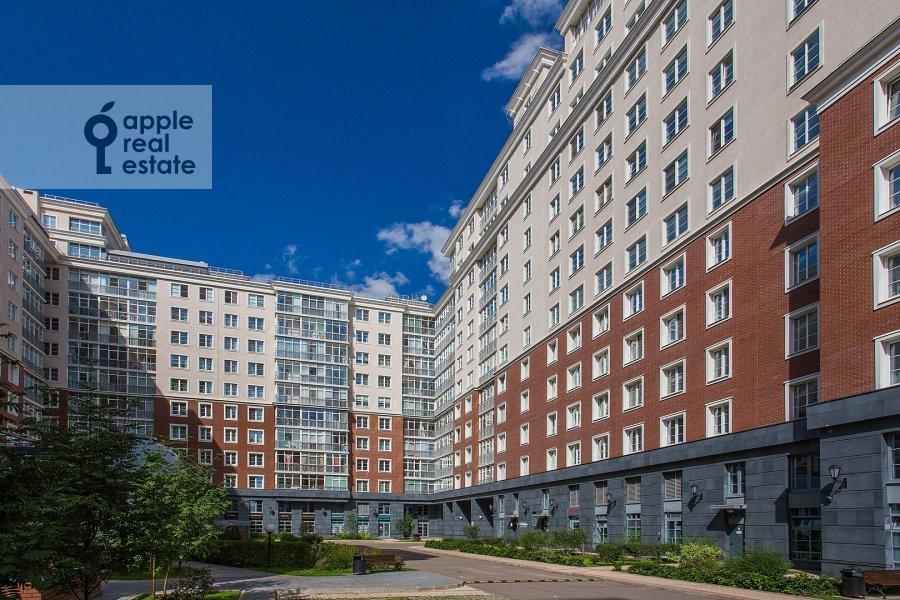 Photo of the house of the 6-room apartment at Mytnaya ulitsa 7s1