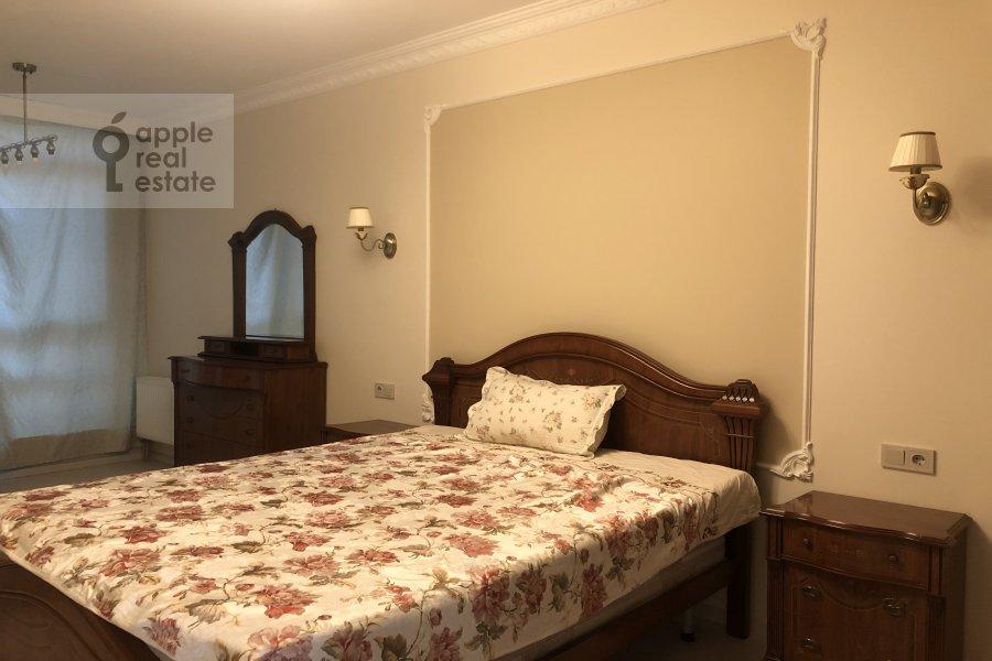 Спальня в 3-комнатной квартире по адресу Ломоносовский проспект 25к3