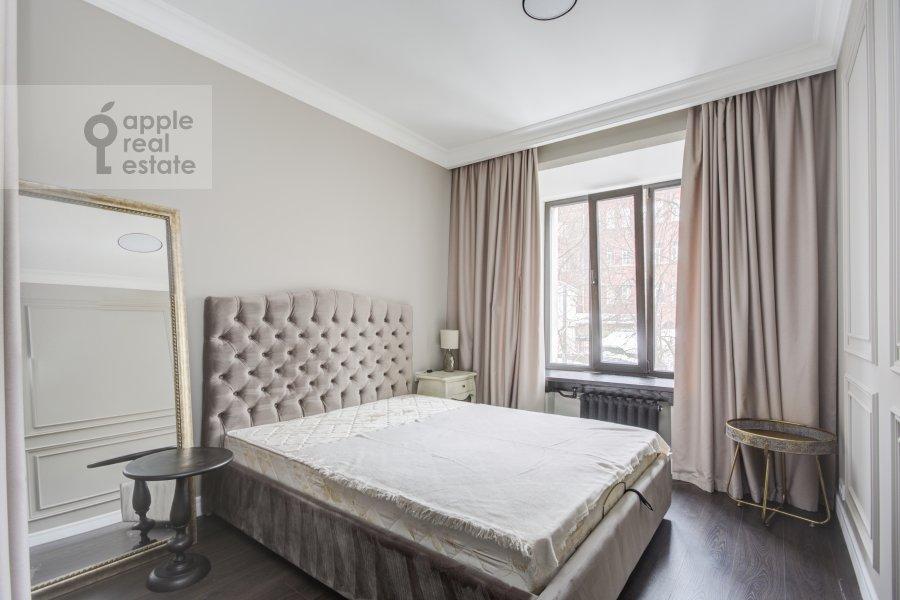 Bedroom of the 2-room apartment at Merzlyakovskiy pereulok 5/1