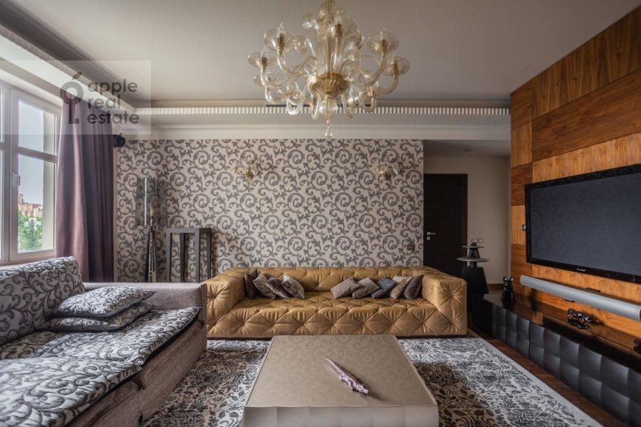 Поэтажный план 5-комнатной квартиры по адресу Маршала Соколовского 5