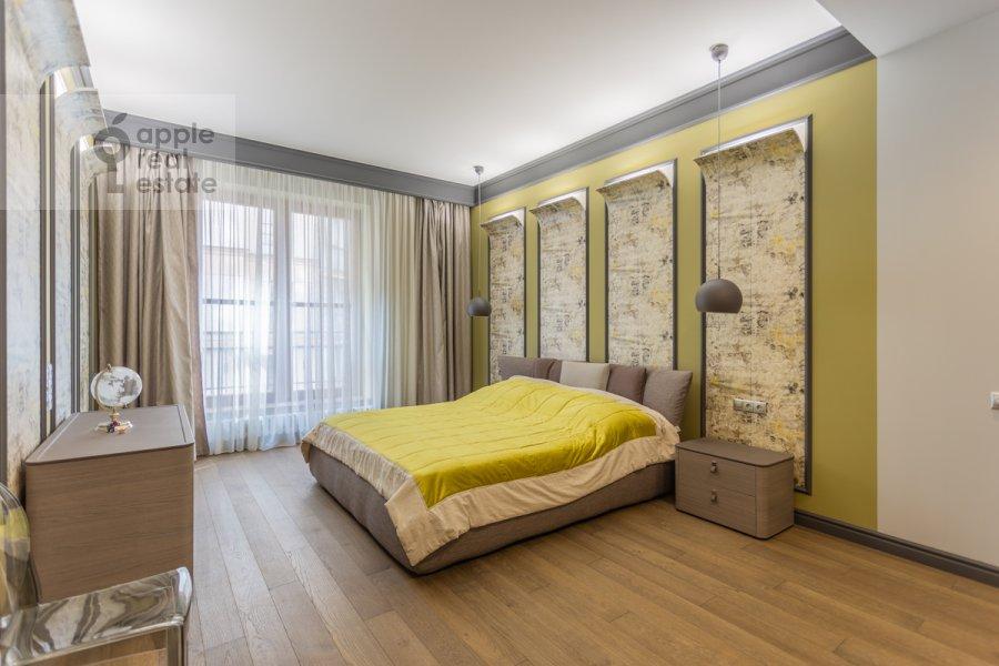 Спальня в 2-комнатной квартире по адресу Наставнический пер. 3