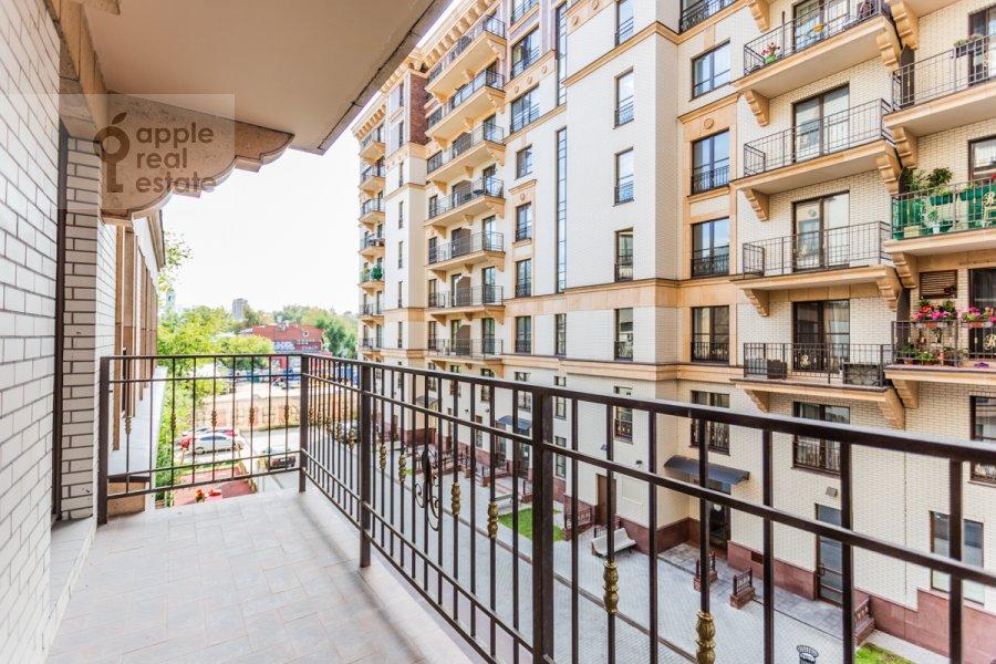 Балкон / Терраса / Лоджия в 2-комнатной квартире по адресу Наставнический пер. 3