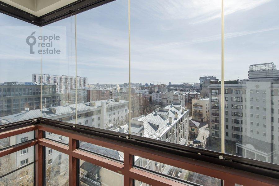 Балкон / Терраса / Лоджия в 5-комнатной квартире по адресу 1-й Неопалимовский пер. 8