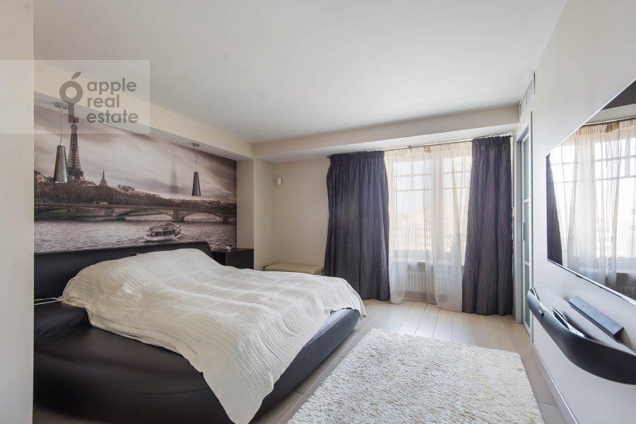 Спальня в 5-комнатной квартире по адресу 1-й Неопалимовский пер. 8