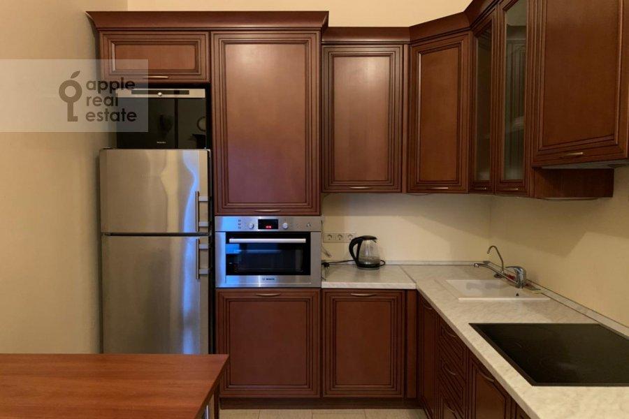 Kitchen of the 3-room apartment at Zarechnaya ul. 6s1