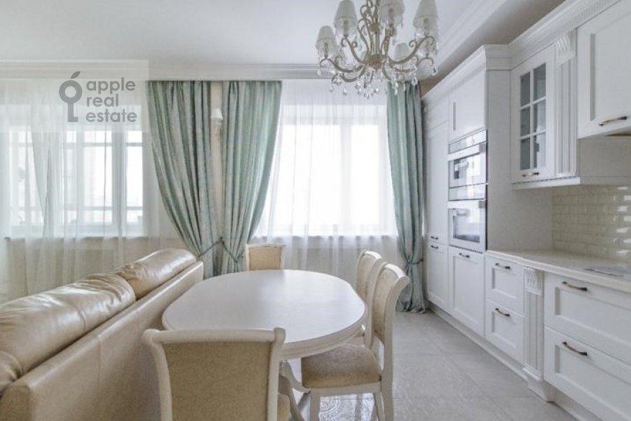 Кухня в 3-комнатной квартире по адресу Мичуринский проспект 26