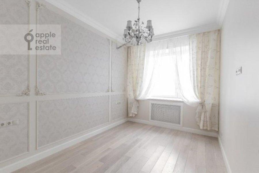 Спальня в 3-комнатной квартире по адресу Мичуринский проспект 26