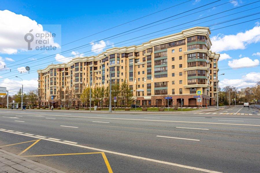 Фото дома 2-комнатной квартиры по адресу Хамовнический Вал ул. 36