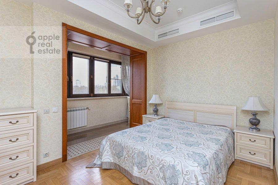 Спальня в 2-комнатной квартире по адресу Хамовнический Вал ул. 36