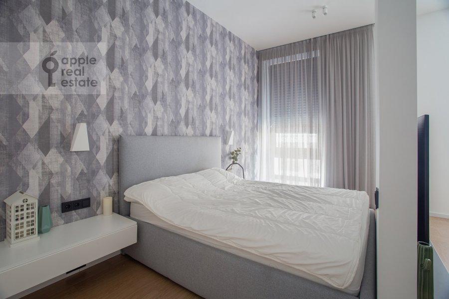 Спальня в квартире-студии по адресу Садовническая набережная 7