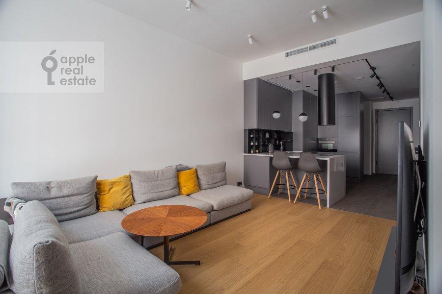 Гостиная в квартире-студии по адресу Садовническая набережная 7