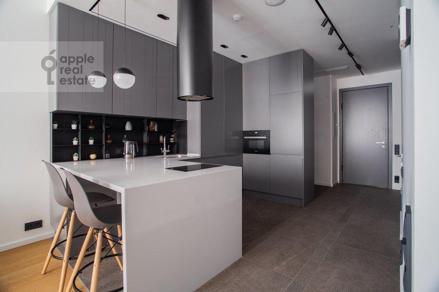 Кухня в квартире-студии по адресу Садовническая набережная 7