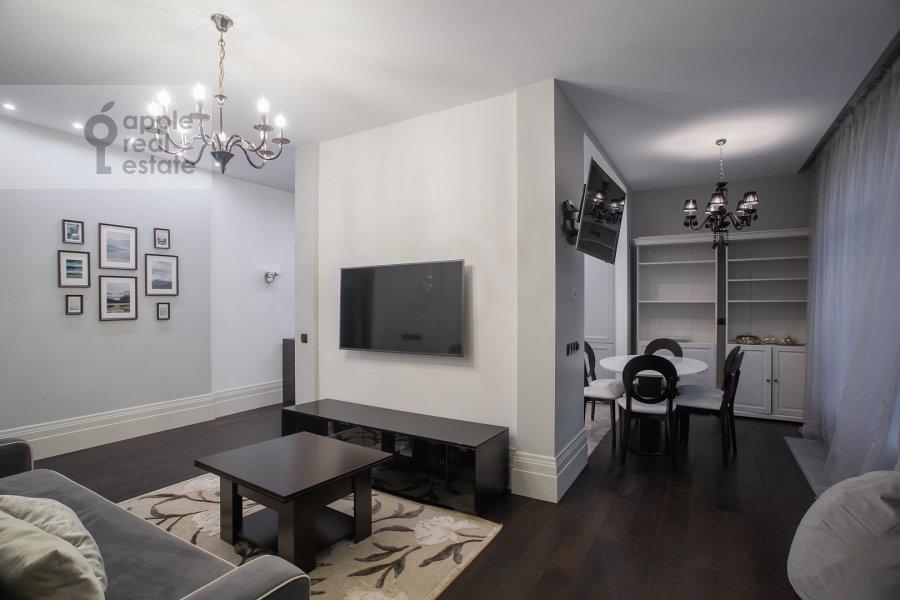 Гостиная в 4-комнатной квартире по адресу Давыдковская улица 18