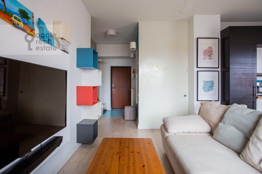 Гостиная в 3-комнатной квартире по адресу Каштановая ул. 6