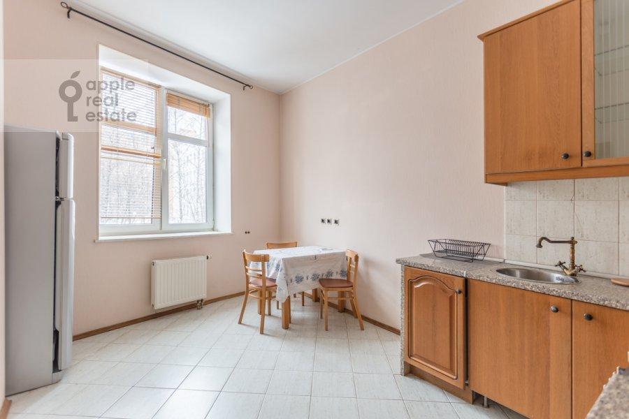 Kitchen of the 1-room apartment at Skhodnenskaya ulitsa 35 s1