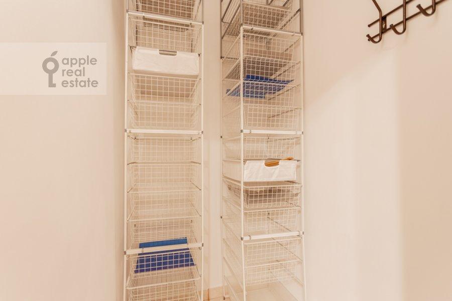 Walk-in closet / Laundry room / Storage room of the 1-room apartment at Skhodnenskaya ulitsa 35 s1
