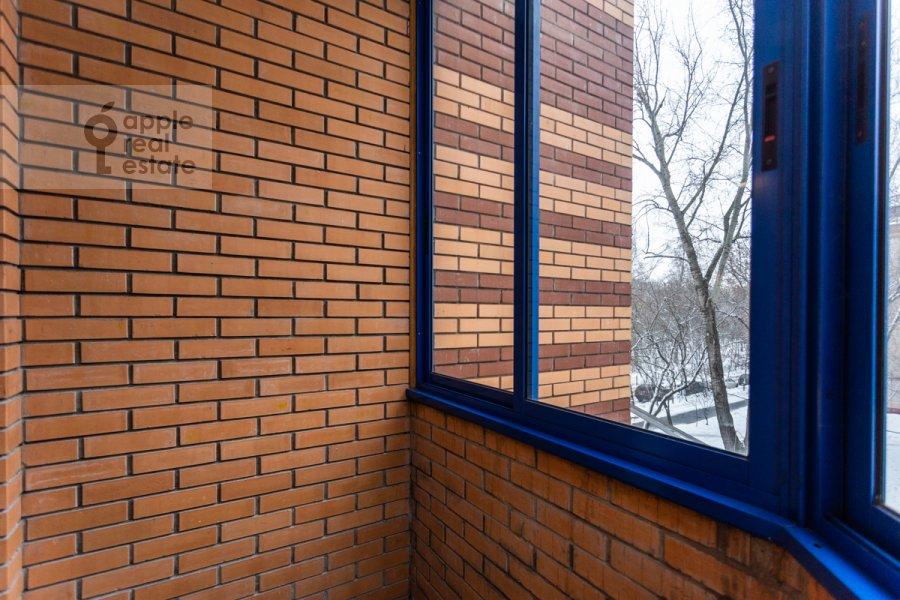 Balcony / Terrace / Loggia of the 1-room apartment at Skhodnenskaya ulitsa 35 s1