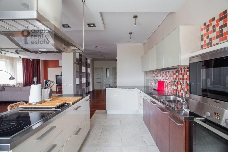 Kitchen of the 4-room apartment at Krylatskie Kholmy 33k3