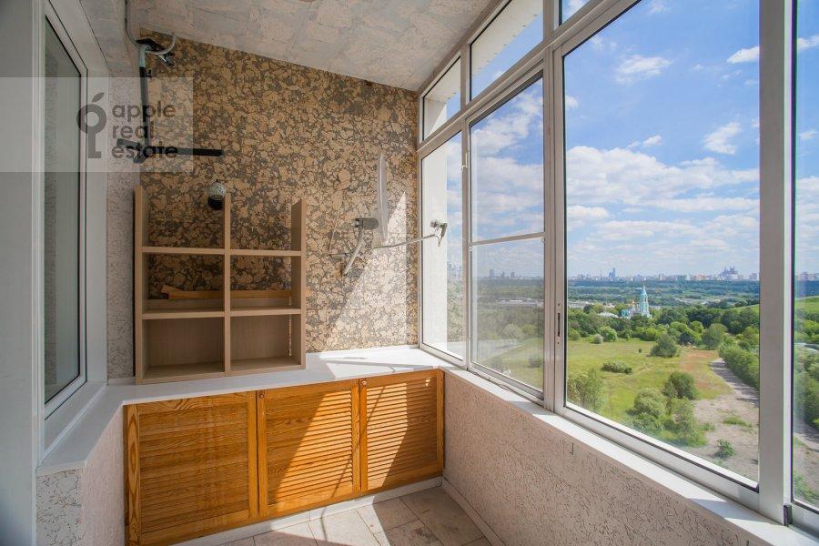 Balcony / Terrace / Loggia of the 4-room apartment at Krylatskie Kholmy 33k3