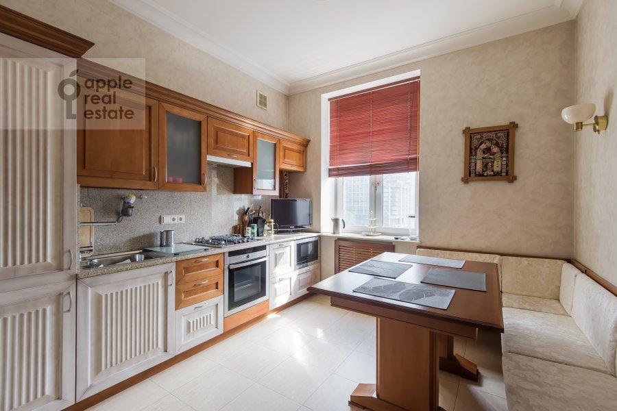 Kitchen of the 2-room apartment at Leningradskiy prospekt 48