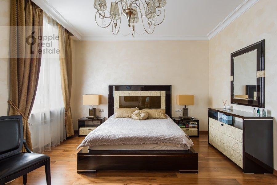Bedroom of the 2-room apartment at Leningradskiy prospekt 48