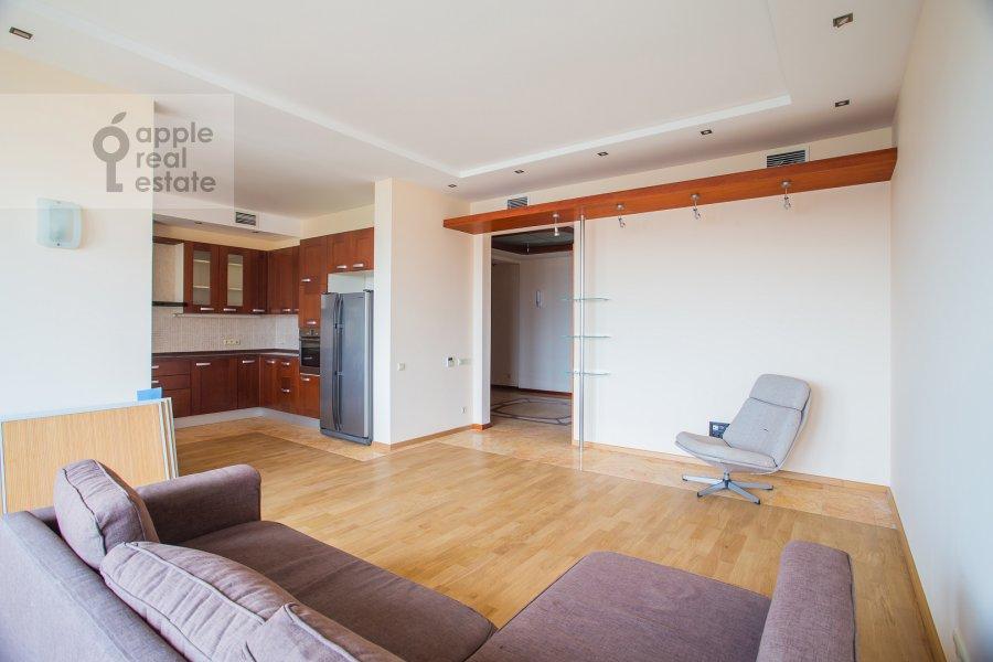 Гостиная в 3-комнатной квартире по адресу Протопоповский пер., 17С3