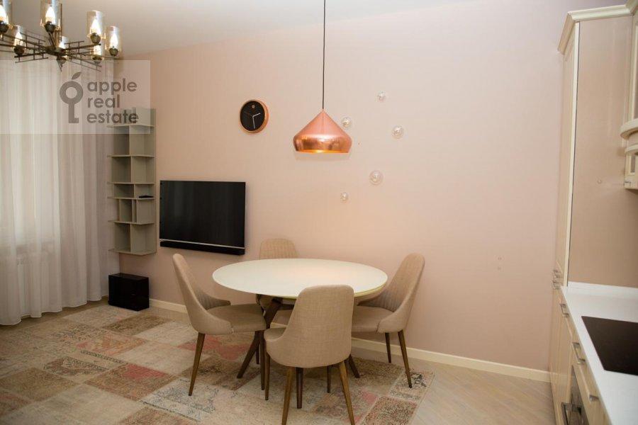 Кухня в 2-комнатной квартире по адресу Верхняя Красносельская улица 19с2