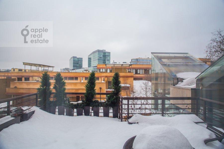 Balcony / Terrace / Loggia of the 6-room apartment at Trubnaya ploshiad' 2