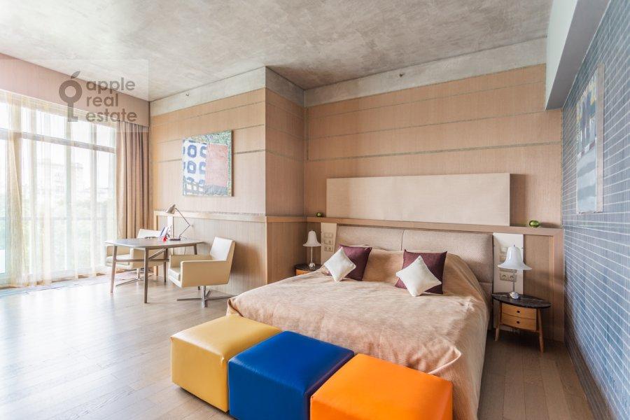 Bedroom of the 2-room apartment at Botanicheskiy pereulok 5