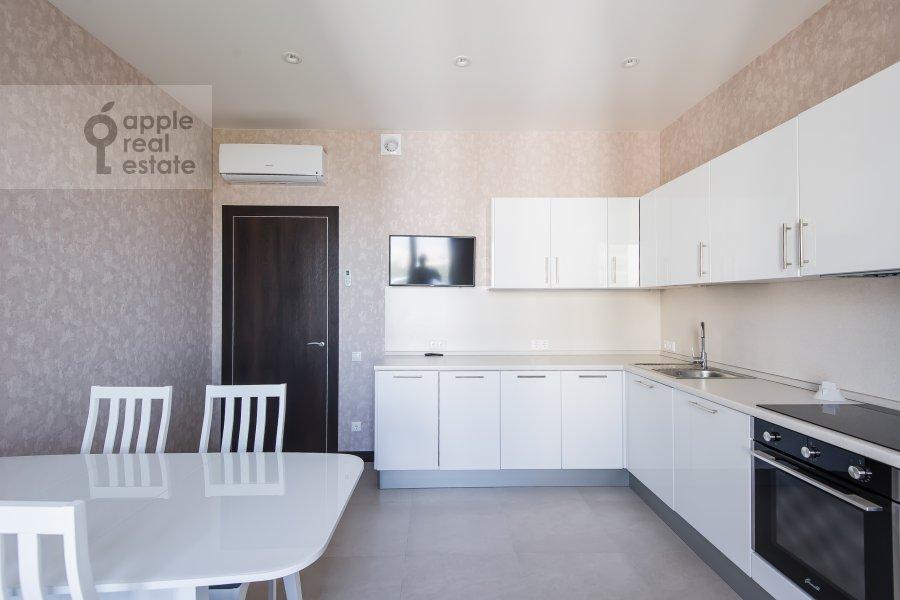 Kitchen of the 2-room apartment at El'dara Ryazanova 2