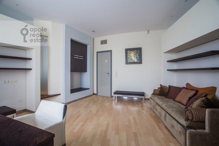 Спальня в 4-комнатной квартире по адресу Бахрушина 19С2