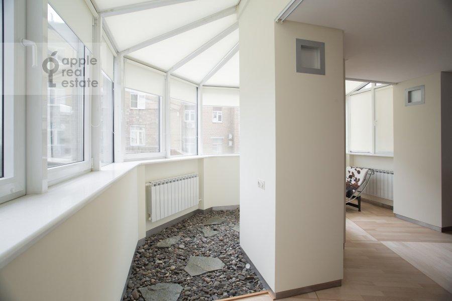 Балкон / Терраса / Лоджия в 4-комнатной квартире по адресу Бахрушина 19С2