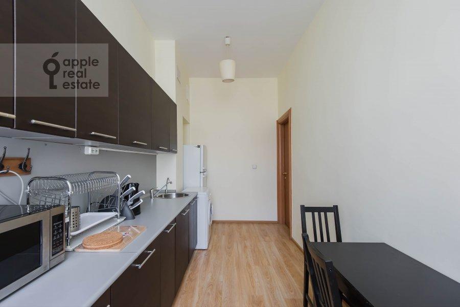 Kitchen of the 2-room apartment at Malyy Kakovinskiy pereulok 3