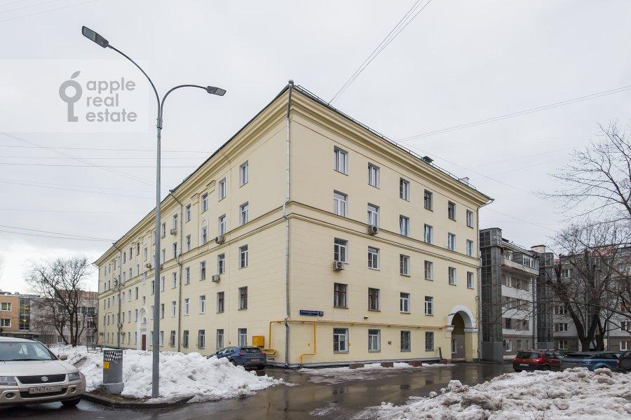 Photo of the house of the 3-room apartment at Staraya Basmannaya ulitsa 20k12