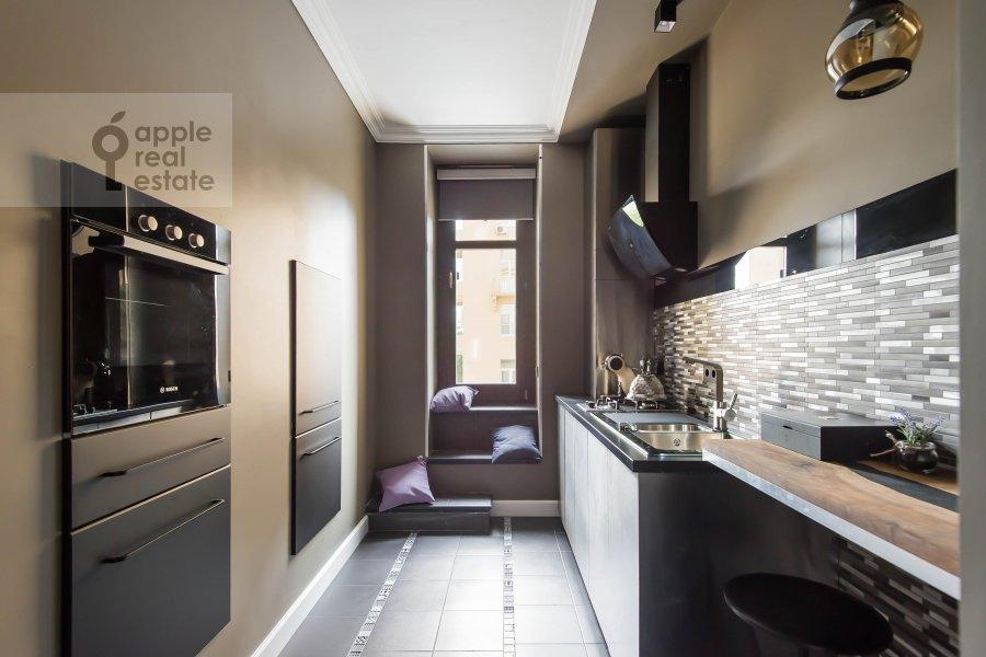 Kitchen of the 2-room apartment at Kutuzovskiy prospekt 25