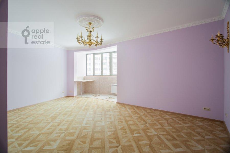 Bedroom of the 6-room apartment at Serpukhovskiy Val 21k4