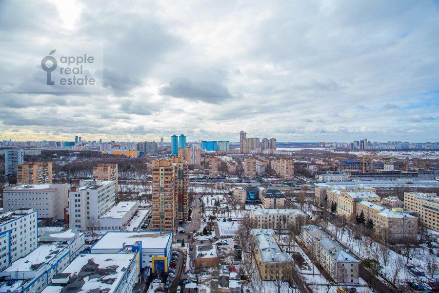 Вид из окна в 5-комнатной квартире по адресу Иваньковское шоссе 5