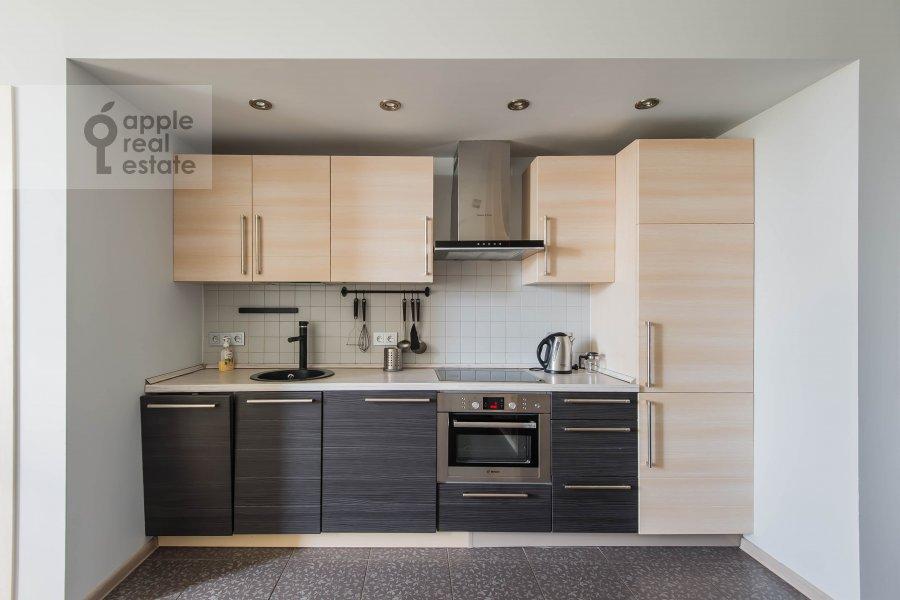 Kitchen of the 2-room apartment at Frunzenskaya naberezhnaya 50