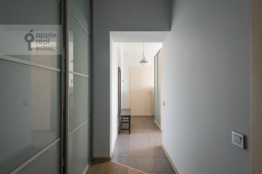 Corridor of the 2-room apartment at Frunzenskaya naberezhnaya 50