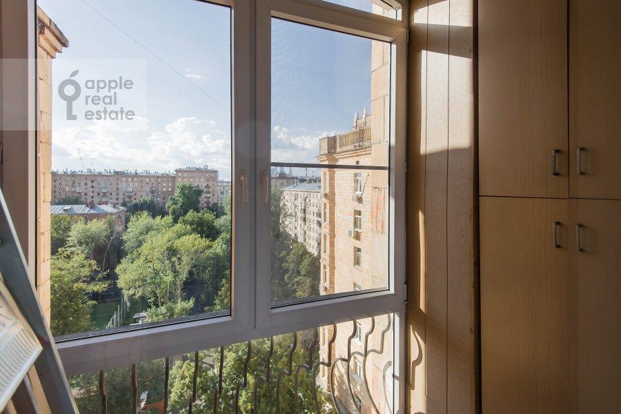 Balcony / Terrace / Loggia of the 2-room apartment at Frunzenskaya naberezhnaya 50