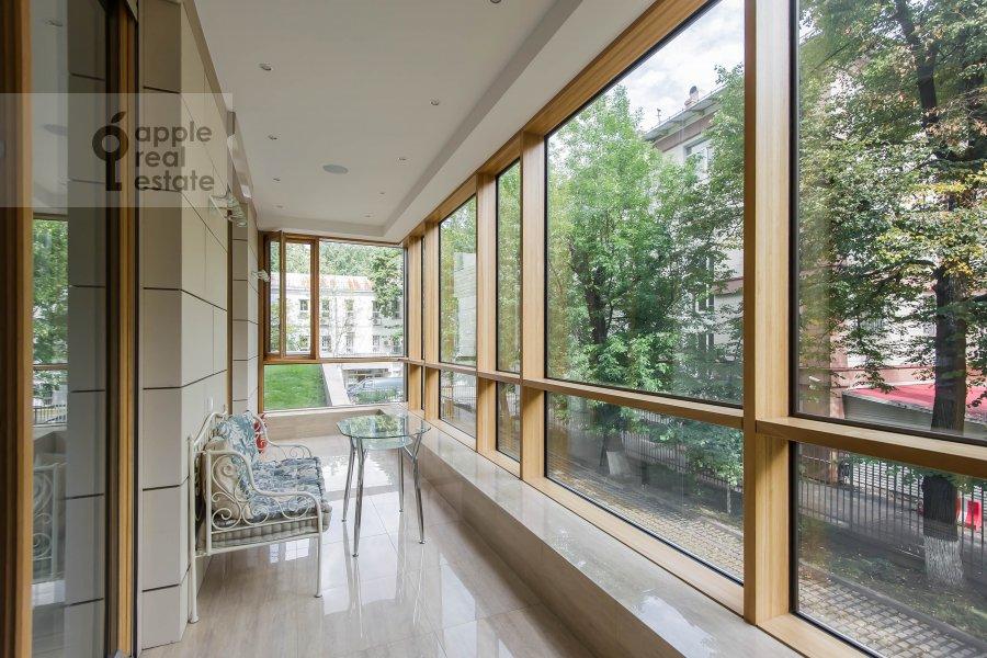 Balcony / Terrace / Loggia of the 6-room apartment at Smolenskiy bul., 24k3