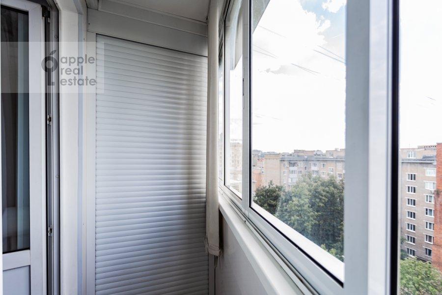 Балкон / Терраса / Лоджия в 1-комнатной квартире по адресу Троицкая улица 10с1