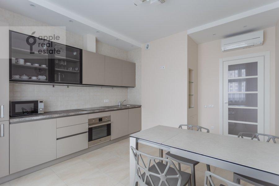 Kitchen of the 3-room apartment at Serpukhovskiy Val 21k3