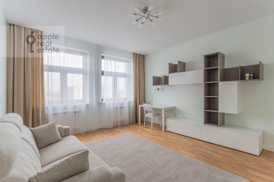 Children's room / Cabinet of the 3-room apartment at Serpukhovskiy Val 21k3