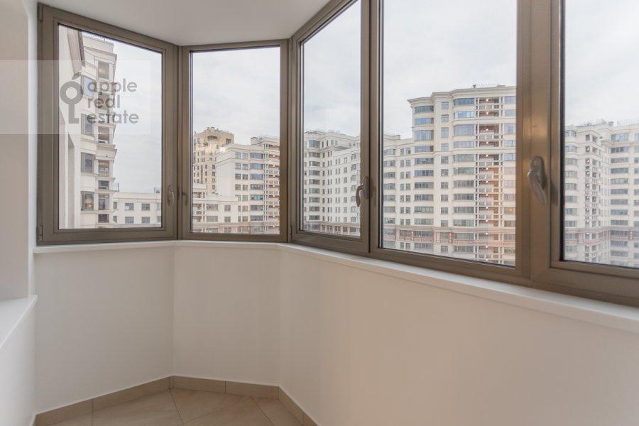 Balcony / Terrace / Loggia of the 3-room apartment at Serpukhovskiy Val 21k3