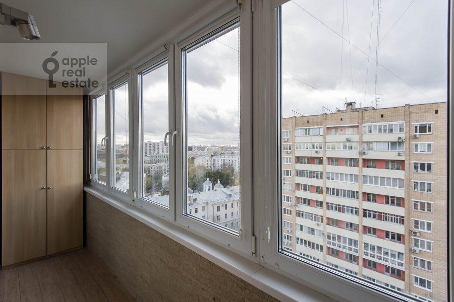 Балкон / Терраса / Лоджия в 3-комнатной квартире по адресу Гагаринский переулок 27