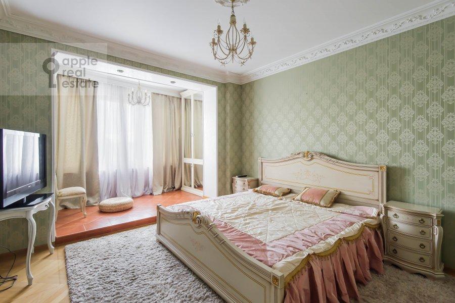 Спальня в 2-комнатной квартире по адресу Новорязанская ул. 30А